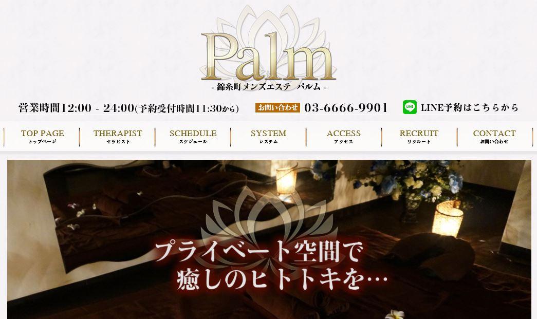 錦糸町のメンズエステ店のPalm(パルム)の写真