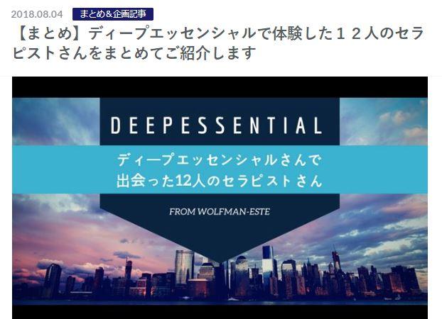 ディープエッセンシャルのまとめ記事